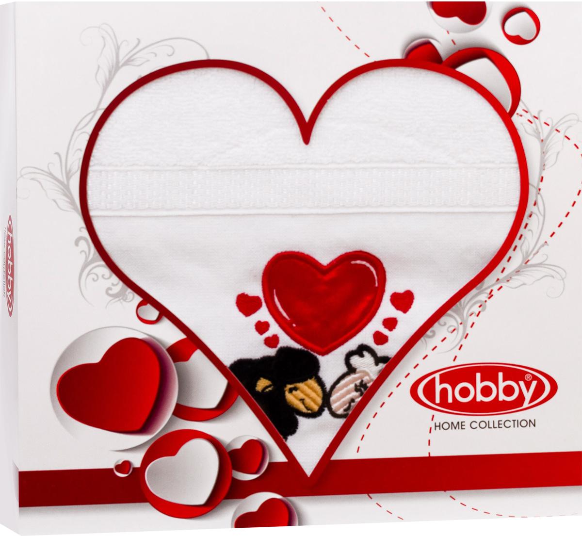 Полотенце Hobby Home Collection Love, 50 х 90 см. 15010005031501000503Полотенце Hobby Home Collection Love выполнено из 100% хлопка. Изделие отлично впитывает влагу, быстро сохнет, сохраняет яркость цвета и не теряет форму даже после многократных стирок. Такое полотенце очень практично и неприхотливо в уходе. А простой, но стильный дизайн полотенца позволит ему вписаться даже в классический интерьер ванной комнаты.