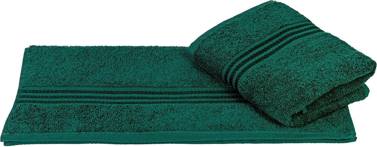 Полотенце Hobby Home Collection Rainbow, цвет: темно-зеленый, 50 х 90 см1501000543Полотенце Hobby Home Collection Rainbow выполнено из 100% хлопка. Изделие отлично впитывает влагу, быстро сохнет, сохраняет яркость цвета и не теряет форму даже после многократных стирок. Такое полотенце очень практично и неприхотливо в уходе. А простой, но стильный дизайн полотенца позволит ему вписаться даже в классический интерьер ванной комнаты.