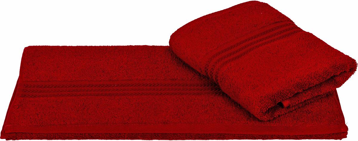 Полотенце Hobby Home Collection Rainbow, цвет: бордовый, 70 х 140 см1501000553Полотенце Hobby Home Collection Rainbow выполнено из 100% хлопка. Изделие отлично впитывает влагу, быстро сохнет, сохраняет яркость цвета и не теряет форму даже после многократных стирок. Такое полотенце очень практично и неприхотливо в уходе. А простой, но стильный дизайн полотенца позволит ему вписаться даже в классический интерьер ванной комнаты.