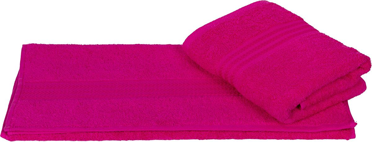 Полотенце Hobby Home Collection Rainbow, цвет: фуксия, 70 х 140 см1501000581Полотенце Hobby Home Collection Rainbow выполнено из 100% хлопка. Изделие отлично впитывает влагу, быстро сохнет, сохраняет яркость цвета и не теряет форму даже после многократных стирок. Такое полотенце очень практично и неприхотливо в уходе. А простой, но стильный дизайн полотенца позволит ему вписаться даже в классический интерьер ванной комнаты.
