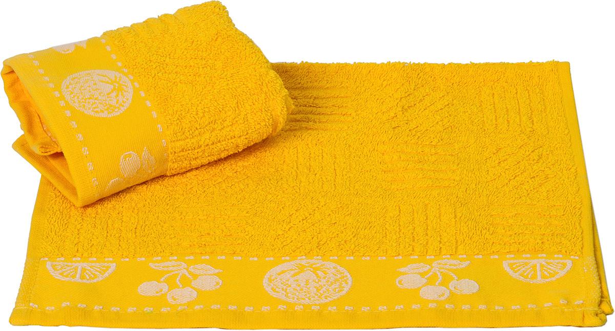 Полотенце кухонное Hobby Home Collection Meyve Bahcesi, цвет: желтый, 30 х 50 см1501000789Кухонное полотенце Hobby Home Collection Meyve Bahcesi выполнено из высококачественного 100% хлопка и предназначено для использования на кухне или в столовой. Такое полотенце станет отличным вариантом для практичной и современной хозяйки.