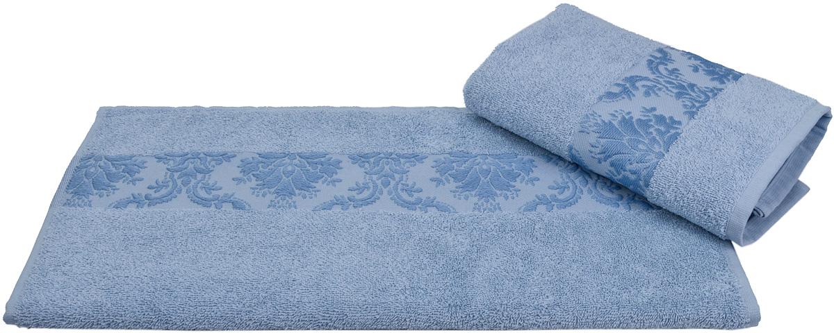 Полотенце Hobby Home Collection Ruzanna, цвет: голубой, 100 х 150 см1501001160Полотенце Hobby Home Collection Ruzanna выполнено из 100% хлопка. Изделие отлично впитывает влагу, быстро сохнет, сохраняет яркость цвета и не теряет форму даже после многократных стирок. Такое полотенце очень практично и неприхотливо в уходе. А простой, но стильный дизайн полотенца позволит ему вписаться даже в классический интерьер ванной комнаты.
