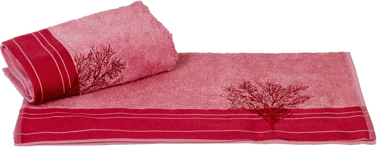 Полотенце Hobby Home Collection Infinity, цвет: светло-розовый, 70 х 140 см10503Полотенце Hobby Home Collection Infinity выполнено из 100% хлопка. Изделие отлично впитывает влагу, быстро сохнет, сохраняет яркость цвета и не теряет форму даже после многократных стирок. Такое полотенце очень практично и неприхотливо в уходе. А простой, но стильный дизайн полотенца позволит ему вписаться даже в классический интерьер ванной комнаты.