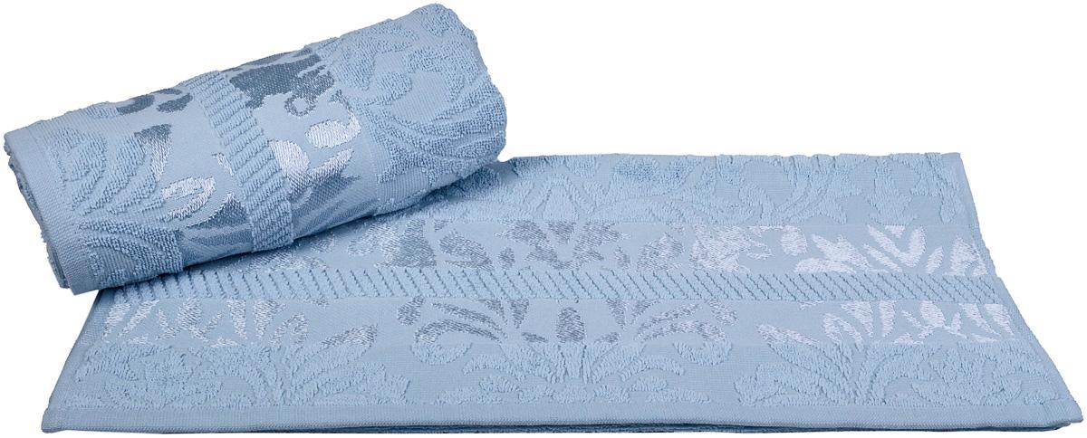 Полотенце Hobby Home Collection Versal, цвет: голубой, 70 х 140 см1607000101Полотенце Hobby Home Collection Versal выполнено из 100% хлопка. Изделие отлично впитывает влагу, быстро сохнет, сохраняет яркость цвета и не теряет форму даже после многократных стирок. Такое полотенце очень практично и неприхотливо в уходе. А простой, но стильный дизайн полотенца позволит ему вписаться даже в классический интерьер ванной комнаты.