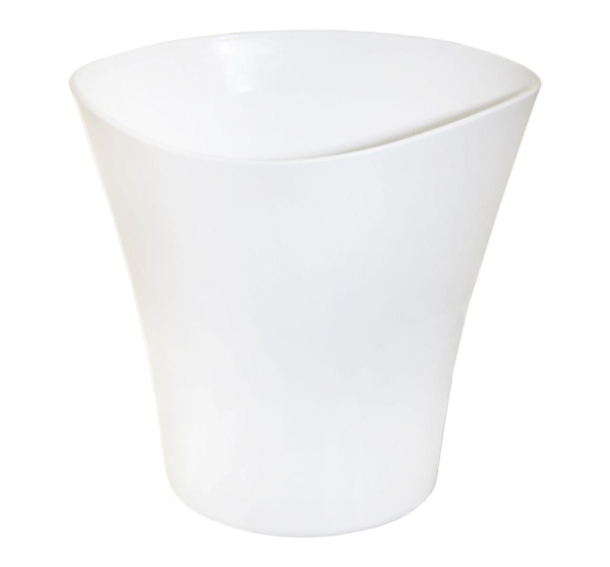 Кашпо JetPlast Волна, цвет: белый, 1,5 л4612754050345Кашпо Волна имеет уникальную форму, сочетающуюся как с классическим, так и с современным дизайном интерьера. Оно изготовлено из прочного полипропилена (пластика) и предназначено для выращивания растений, цветов и трав в домашних условиях. Такое кашпо порадует вас функциональностью, а благодаря лаконичному дизайну впишется в любой интерьер помещения. Объем кашпо: 1,5 л.