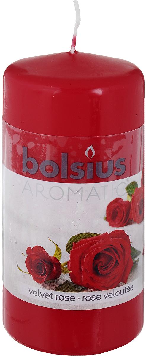 Свеча ароматическая Bolsius Роза, 6 х 6 х 11,5 см103626640181Свеча ароматическая Bolsius Роза создаст в доме атмосферу тепла и уюта. Свеча приятно смотрится в интерьере, она безопасна и удобна в использовании. Свеча создаст приятное мерцание, а сладкий манящий аромат окутает вас и подарит приятные ощущения.