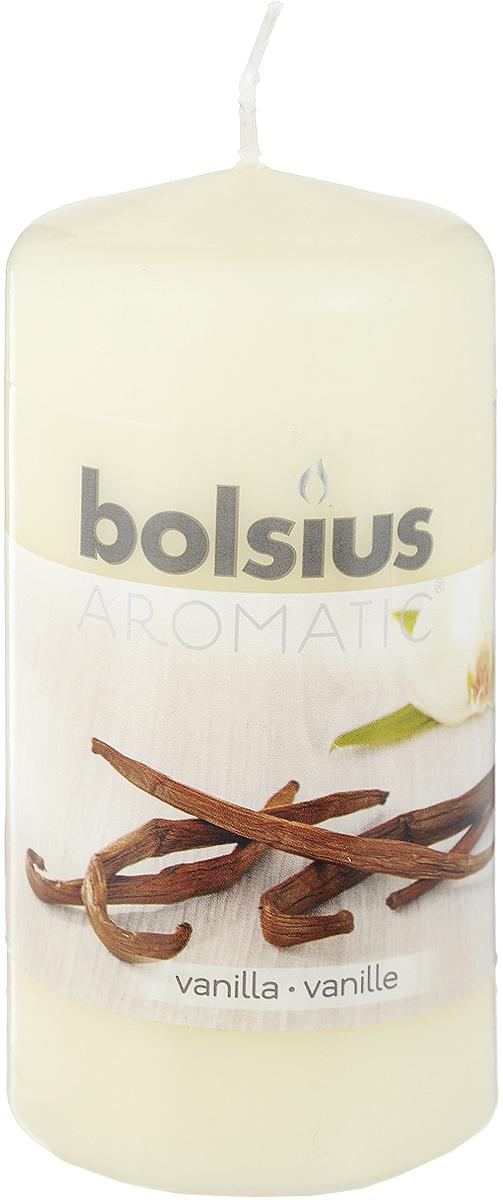 Свеча ароматическая Bolsius Ваниль, 6 х 6 х 11,5 см103626640175Свеча ароматическая Bolsius Ваниль создаст в доме атмосферу тепла и уюта. Свеча приятно смотрится в интерьере, она безопасна и удобна в использовании. Свеча создаст приятное мерцание, а сладкий манящий аромат окутает вас и подарит приятные ощущения.