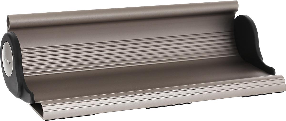 Silwerhof Подставка для канцелярских принадлежностей Light Energy36129Подставка для канцелярских принадлежностей Silwerhof Light Energy - это прекрасное воплощение смелых идей для ценителей модных трендов.Подставка изготовлена из прочного алюминия с оригинальным бронзовым покрытием.Такая подставка станет практичным и функциональным элементом вашего рабочего стола и отлично впишется в интерьер офиса.