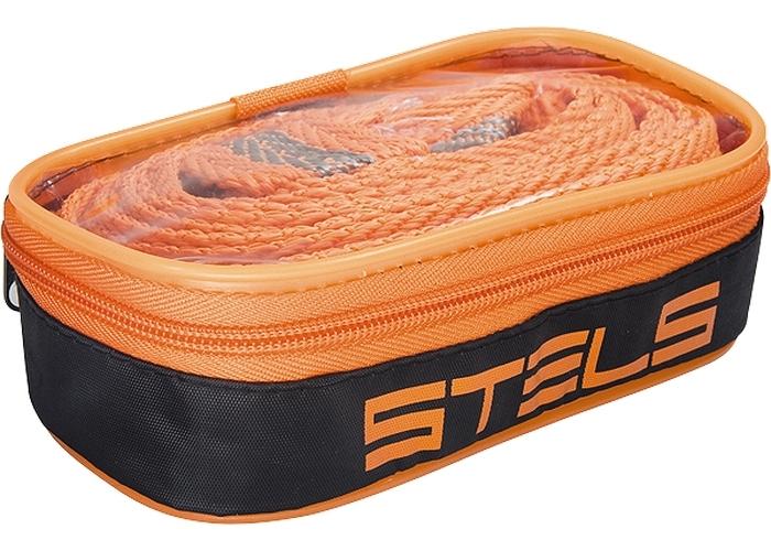 Трос буксировочный Stels с петлями сумка на молнии, 12 т54384Тросы буксировочные изготовлены из морозоустойчивого авиационного капрона; Не подвержены воздействию окружающей среды (резкому изменению влажности и температуры); На протяжении всего срока службы не меняют свои линейные размеры; Имеют удобную индивидуальную упаковку для транспортировки и хранения; Изготовлены согласно требованиям правил дорожного движения и основных положений по допуску транспортных средств к эксплуатации.