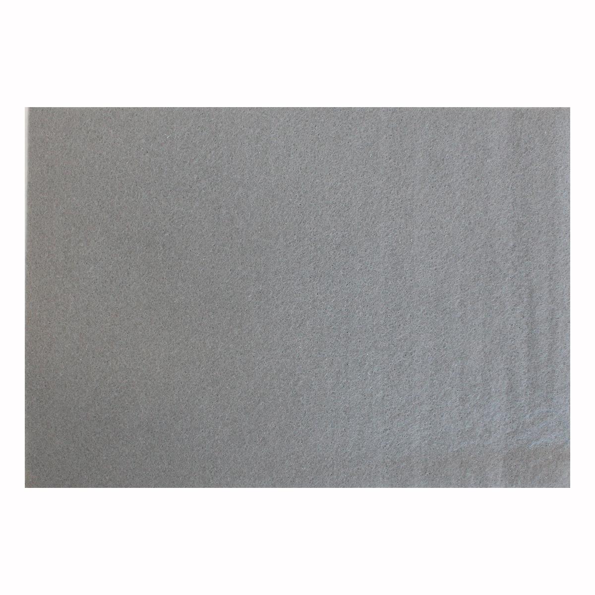 Фетр листовой Астра, цвет: серый, 20 х 30 см, 10 шт7708618_YF 648 св.серый
