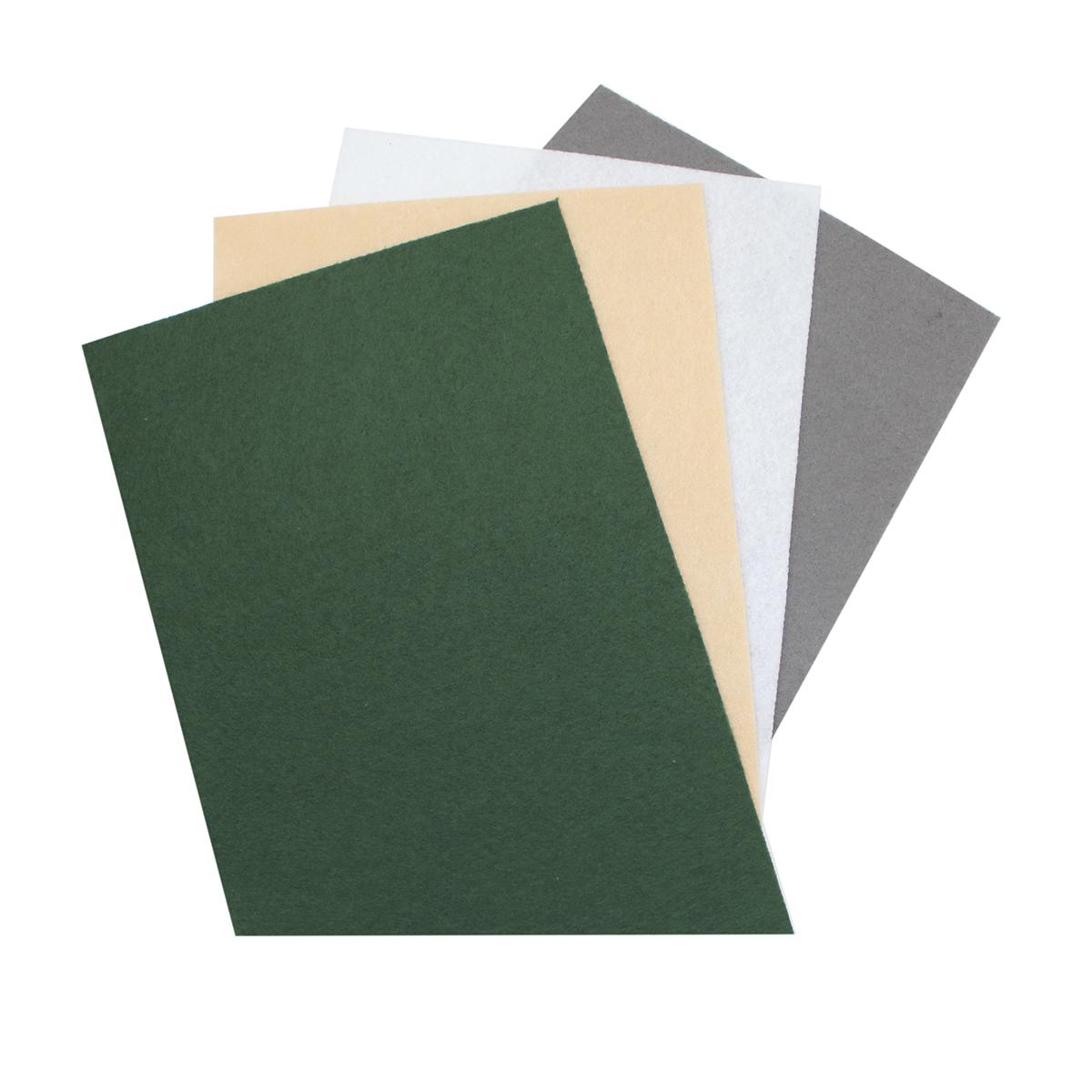 Фетр листовой Астра Ассорти, 20 х 30 см, 4 шт. 7715420_107715420_10