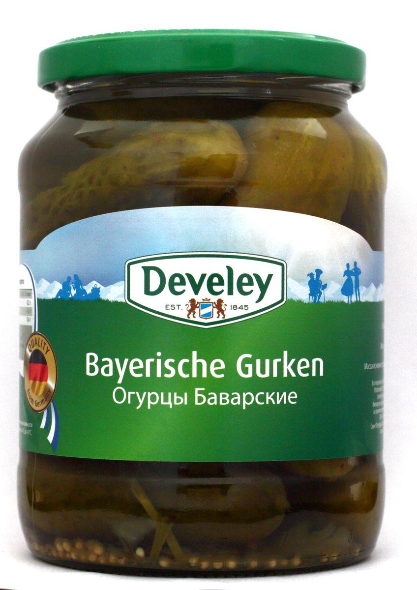 Develey огурцы баварские, 720 мл7240При производстве рассола для этих огурчиков используются только натуральные добавки и ароматизаторы.