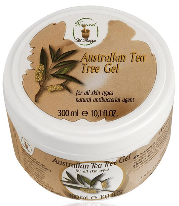Old Recipes Гель антибактериальный для ног и рук при посещении общественных мест занятий спортом и отдыха с австралийским чайным деревом,