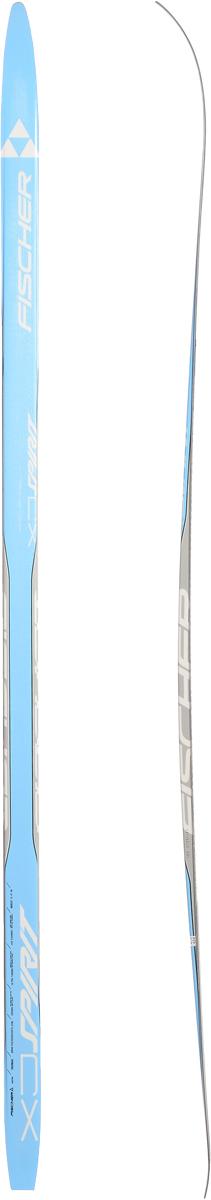 """Лыжи беговые Fischer """"Spirit Crown Blue Jr"""", цвет: голубой, серый, длина 150 см N64015"""