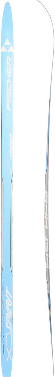 """Лыжи беговые Fischer """"Spirit Crown Blue Jr"""", цвет: голубой, серый, длина 160 см N64015"""