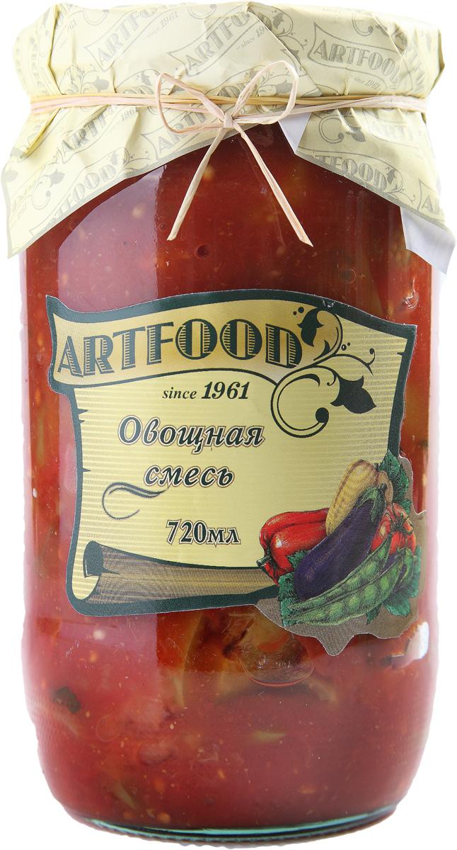Artfood овощная смесь, 720 мл23001110200010Компания Артфуд была основана в 1995 г на базе Арташатского Консервного Завода и на сегодняшний день является одной из крупнейших компаний в Армении и имеет доминирующие позиции в сфере консервированной продукции. Не содержит консервантов, искусственных ароматизаторов и красителей.