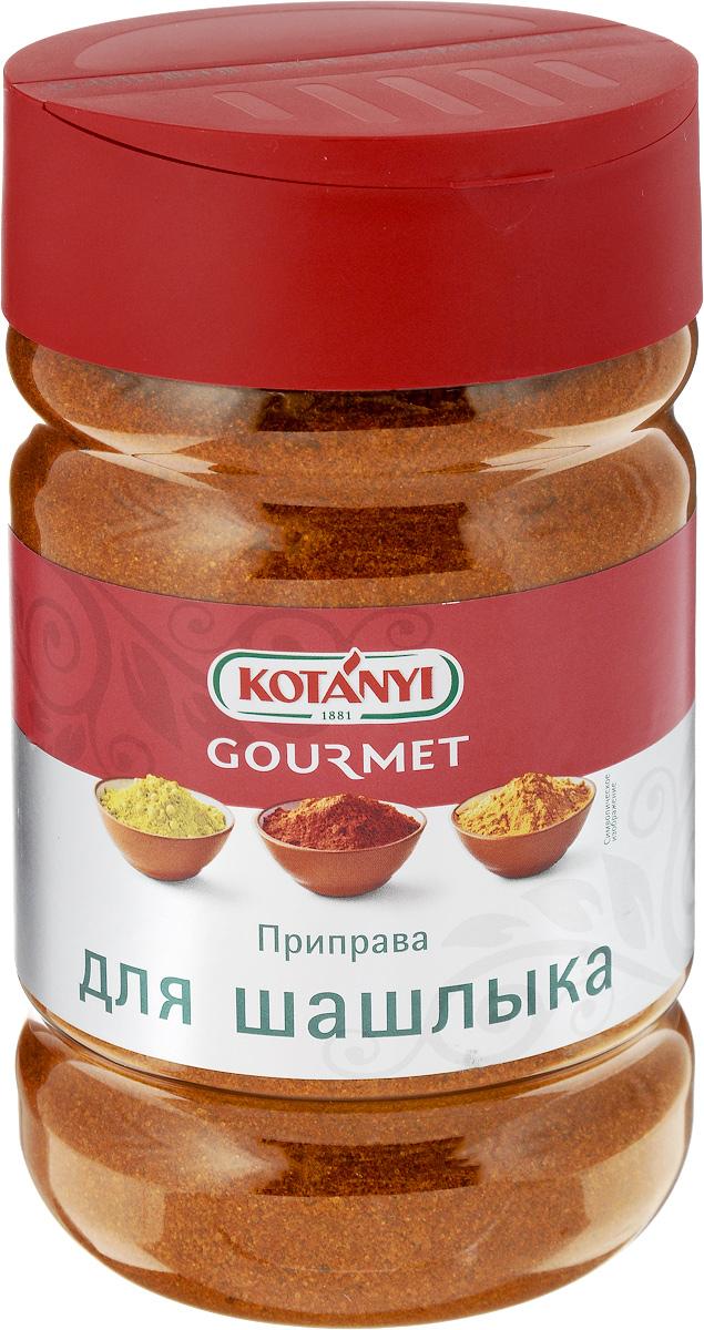 Kotanyi Приправа для шашлыка, 950 г0120710Приправа для шашлыка Kotanyi придает ароматный островатый вкус блюдам, приготовленным на гриле. Она может использоваться для любых видов мяса, а также подходит для приготовления мяса на сковороде.Применение: тщательно натрите мясо приправой и готовьте привычным способом.Уважаемые клиенты! Обращаем ваше внимание, что полный перечень состава продукта представлен на дополнительном изображении.