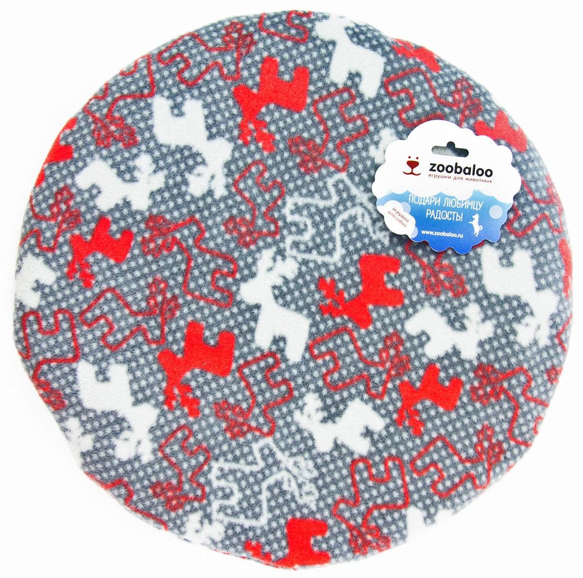 Лежак-коврик для животных Zoobaloo Олени, 40 х 40 см1155Великолепный флисовый лежак-коврик Zoobaloo - это отличный аксессуар для вашего питомца, на котором можно спать, играться и снова, приятно устав, заснуть. Он идеально подходит для полов с любым покрытием. Изделие поддерживает температурный баланс вашего питомца в любое время года. Наполнитель выполнен из синтепона.
