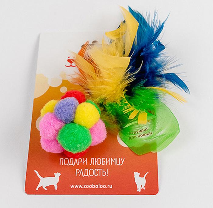 Игрушка для кошек Zoobaloo Разноцветный мячик с пером116Игрушка Zoobaloo Разноцветный мячик с пером выполнена из скрепленных вместе мягких маленьких мячиков с яркими цветными перышками. Благодаря ярким расцветкам игрушка привлечет внимание вашего питомца и подарит ему много веселых и радостных моментов. УВАЖАЕМЫЕ КЛИЕНТЫ! Обращаем ваше внимание на возможные изменения в цветовом дизайне, связанные с ассортиментом продукции. Поставка осуществляется в зависимости от наличия на складе.