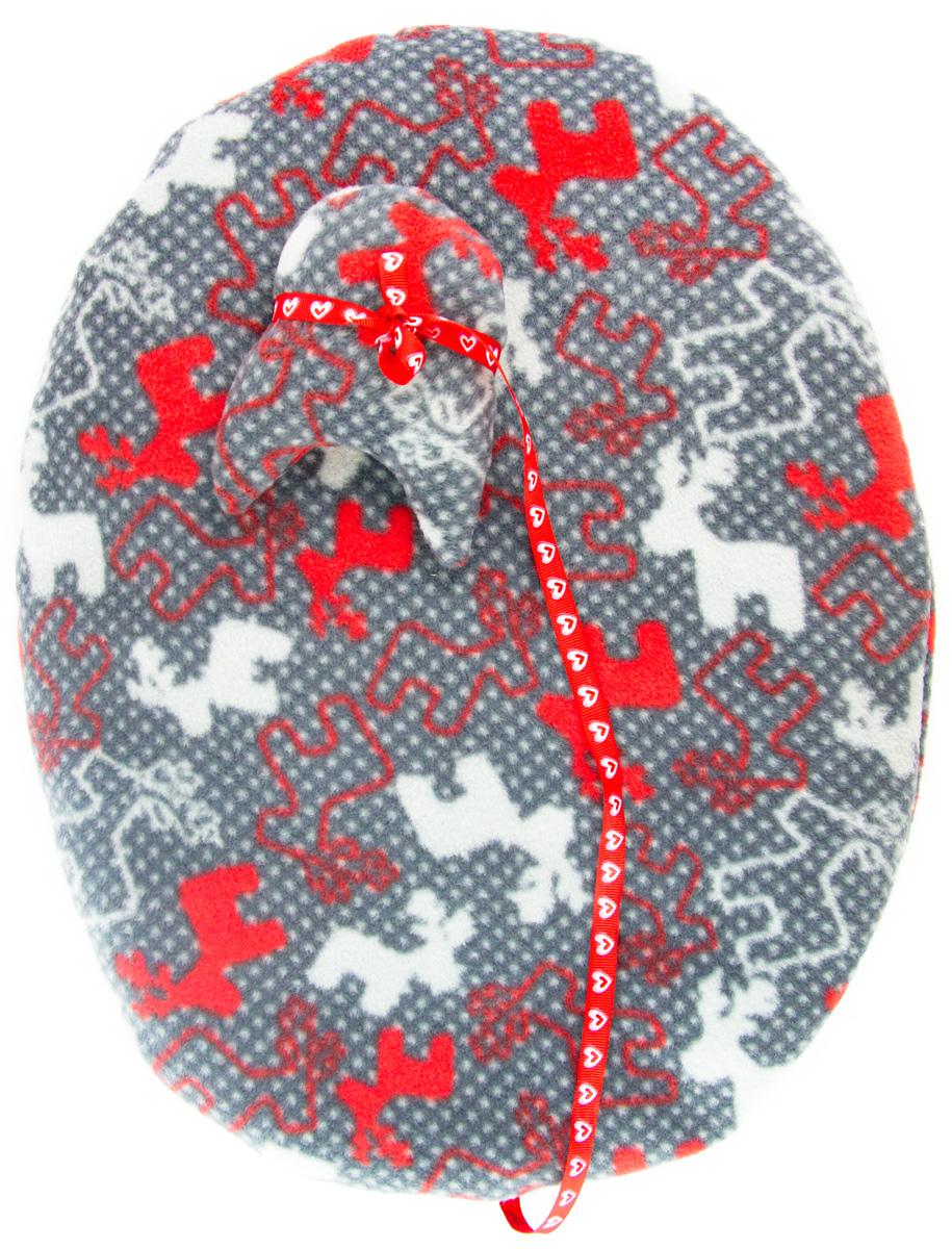 Лежак-коврик для животных Zoobaloo Олени, с игрушкой, 65 х 55 см1196Великолепный флисовый лежак-коврик Zoobaloo - это отличный аксессуар для вашего питомца, на котором можно спать, играться и снова, приятно устав, заснуть. Он идеально подходит для полов с любым покрытием. Изделие поддерживает температурный баланс вашего питомца в любое время года. Наполнитель выполнен из синтепона.