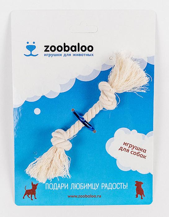 Грейфер для собак Zoobaloo, длина 13 см0120710Грейфер для собак мелких пород Zoobaloo изготовлен из перекрученной хлопчатобумажной веревки и несомненно привлечет внимание вашей собаки. Традиционная игрушка для собак. Прочный и долговечный, абсолютно безопасный.