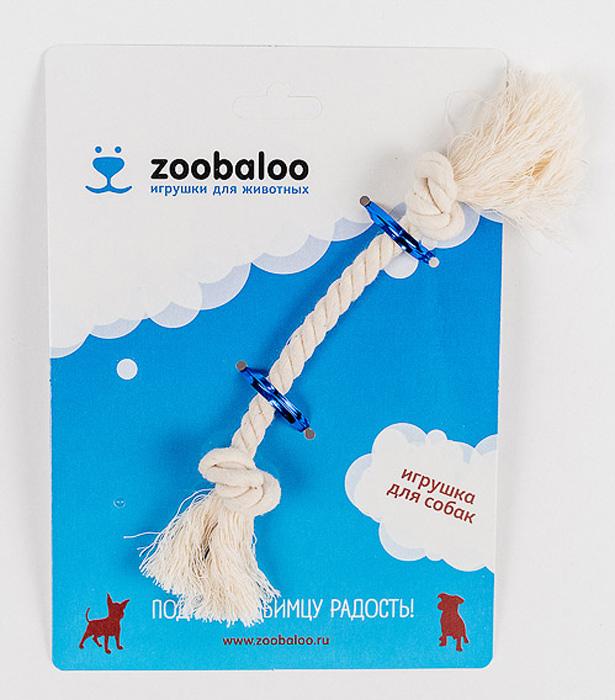 Грейфер для собак Zoobaloo, длина 17 см0120710Грейфер для собак мелких пород Zoobaloo изготовлен из перекрученной хлопчатобумажной веревки и несомненно привлечет внимание вашей собаки. Традиционная игрушка для собак. Прочный и долговечный, абсолютно безопасный.