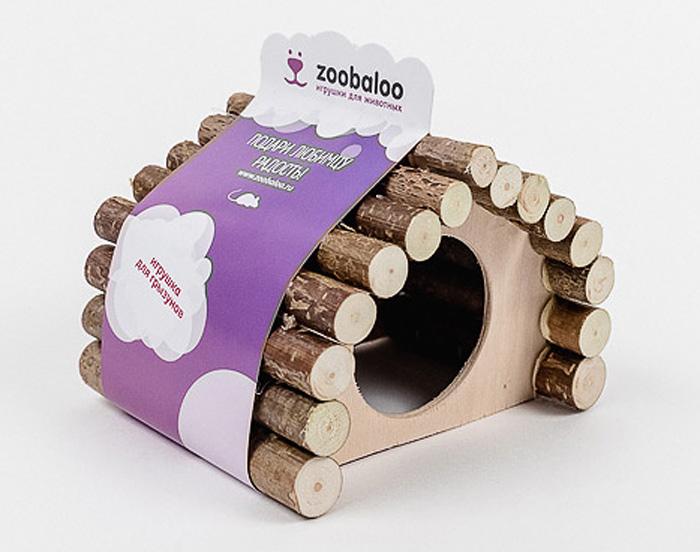 Домик для грызунов Zoobaloo Ромб, 15 х 12 х 16 см611Комфортный деревянный домик для грызунов Zoobaloo послужит надежным укрытием вашему любимцу, а также идеальным местом для сна и отдыха после насыщенного всевозможными делами дня! Домик имеет оригинальную ромбовидную крышу, изготовленную из веток орешника, и удобный круглый вход. Этот аксессуар предоставит вашему любимцу минуты отдыха в течение дня. Домик позволит вашему грызуну ощутить максимальный комфорт и уют! Кроме того, аксессуар является великолепной альтернативой пластиковым домикам и металлическим клеткам.