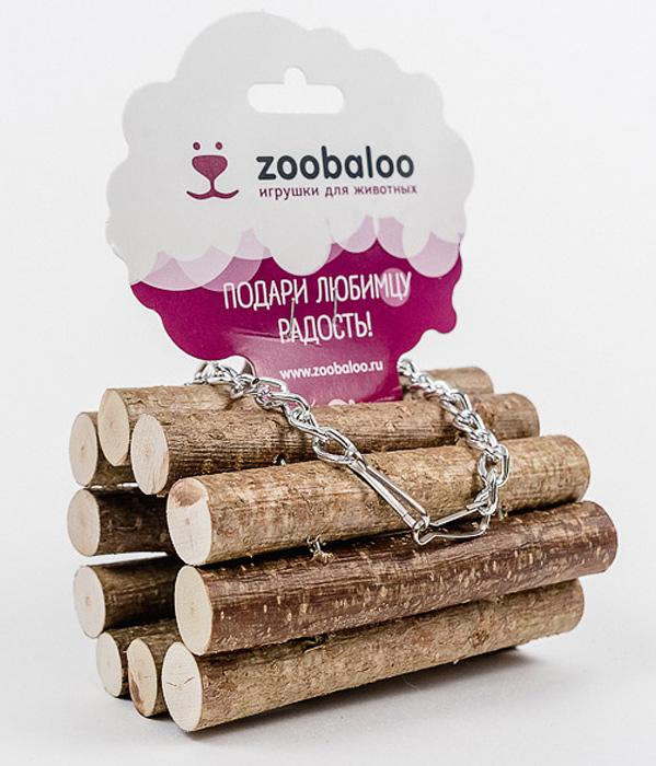 Тоннель для грызунов Zoobaloo. 657657Тоннель Zoobaloo, изготовленный из орешника, предназначен для грызунов. Абсолютно натуральный, он является идеальным аксессуаром для клеток. Превосходный аттракцион для вашего любимца - прекрасное средство разнообразить досуг и всегда оставаться в форме!