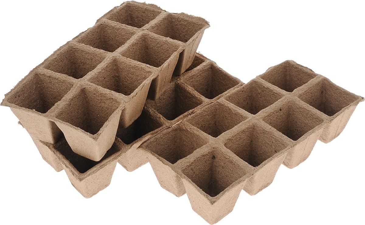 Торфяной горшочек Добрая сила, для выращивания рассады, 7 х 7 х 7,5 см, 24 шт141-442Горшочек Добрая сила является органическим продуктом и представляет собой полую емкость, стенки которого выполнены из торфо-древесной массы с добавлением мела.Рекомендуется для лучшего прорастания накрыть горшочки стекломили пленкой. Выращенную рассаду необходимо высаживать в грунт вместе с горшком.В комплекте 3 блока по 8 горшочков.Состав: торф верховой 70%, древесная масса 30%, мел, pH не менее 5,5.Размер горшка: 7 х 7 х 7,5 см.Размер одного блока: 31 х 15 х 7,5 см.