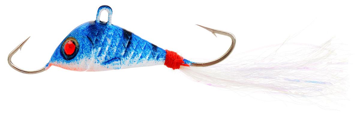 Балансир Finnex, длина 3,5 см, вес 5 г. BLR1-NPTBLR1-NPTБалансир Finnex имеет светящийся хвостик, который поможет приманить рыбу на глубине в несколько метров. Форма этого балансира напоминает мелкую рыбку. Балансир оснащен блестящим глазком, что делает его более заметным и позволяет привлечь рыбу с более дальнего расстояния. Изделие изготовлено из прочного свинцового сплава с элементами пластика.