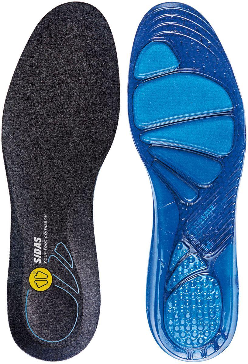 Стельки Sidas Cushioning Gel. Размер SCSEESCUSHIONМягкая и комфортная гелевая стелька! Идеально подходит для ежедневного использования в любом типе обуви. Снижает ударную нагрузку при ходьбе, разгружает коленные и тазобедренный суставы. За счет специального верхнего слоя, обладает антибактериальным эффектом, легко стирается. Превратит Вашу обувь в комфортные домашние тапочки! Специальная конструкция из уникального материала Dynamic gel- для достижения максимальной мягкости и комфорта.