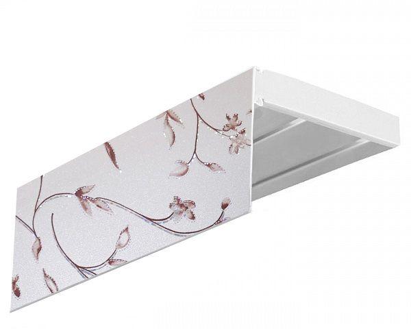 Багет Эскар Романтика, цвет: серебристый, 7 см х 120 см29129120Багет для карниза крепится к карнизным шинам. Благодаря багетному карнизу, от взора скрывается верхняя часть штор (шторная лента, крючки), тем самым придавая окну и интерьеру в целом изысканный вид и шарм. Вы можете выбрать багетные карнизы для штор среди широкого ассортимента багета Российского производства. У нас множество идей использования багета для Вашего интерьера, которые мы готовы воплотить! Грамотно подобранное оформление – ключ к превосходному результату!!!