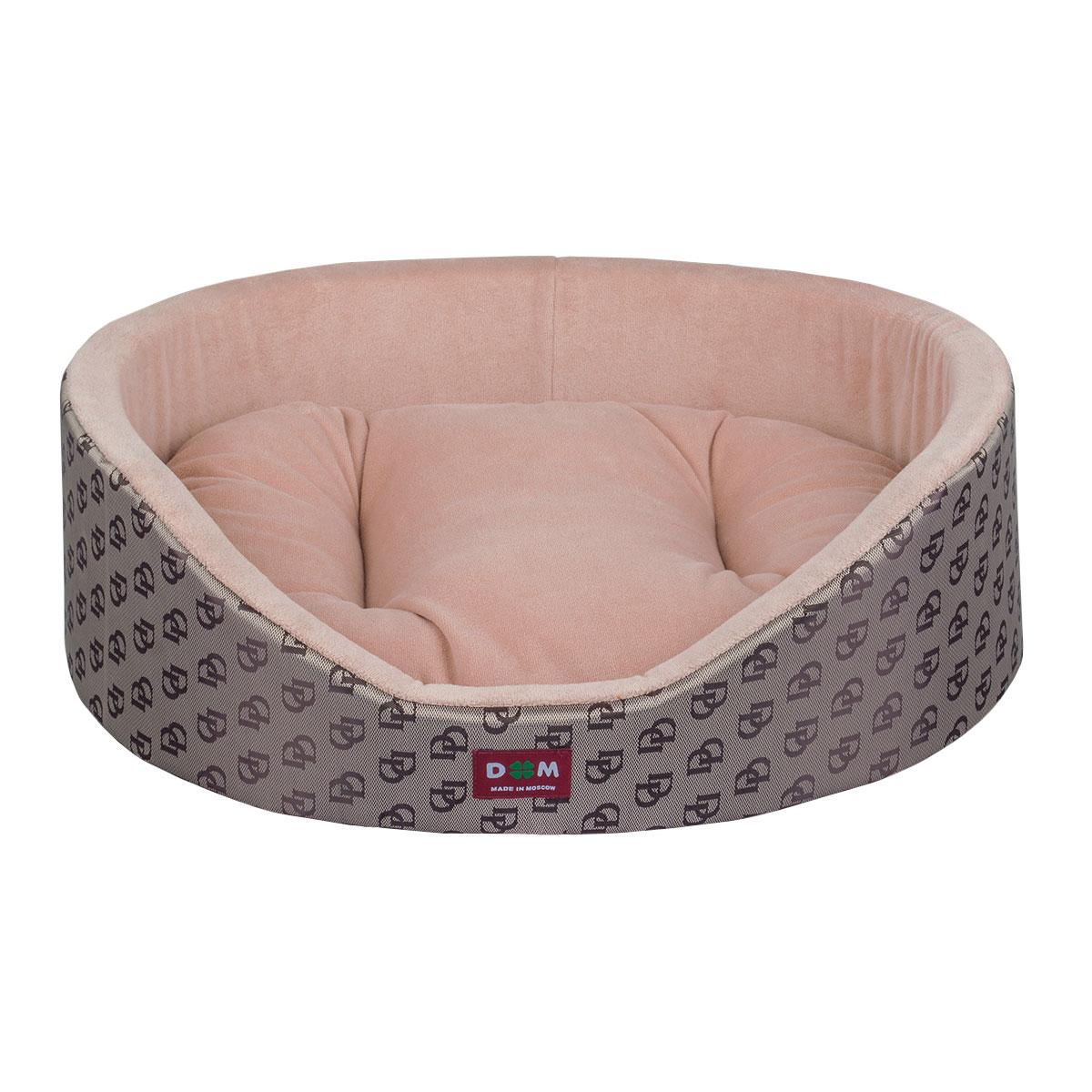 Лежак для животных Dogmoda Профи, цвет: пепель-розовый, коричневый, 53 х 50 х 16 смDM-160269-3Уютный лежак для животных Dogmoda Профи обязательно понравится вашему питомцу. В нем питомец будет счастлив, так как лежак очень мягкий и приятный. Он будет проводить все свое свободное время в нем, отдыхать, наслаждаясь удобством. Лежак выполнен из мягкой качественной ткани, также имеется подушка, которая легко вынимается и ее можно использовать отдельно.