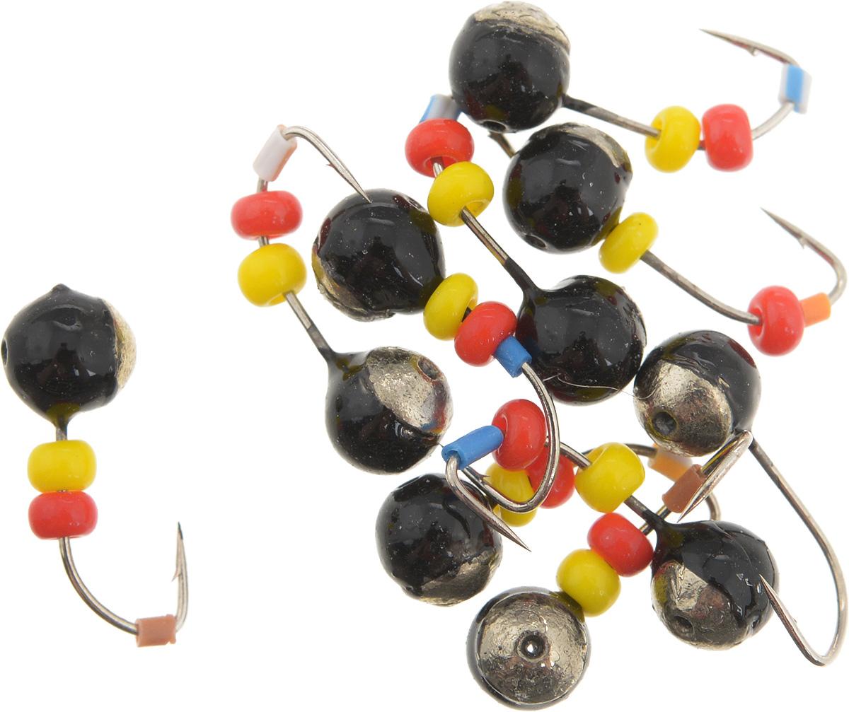 Мормышка вольфрамовая Dixxon Шар, с отверстием, с бисером, диаметр 4 мм, 0,65 г, 10 шт. 5941103/1/12Мормышка Dixxon Шар изготовлена из вольфрама и оснащена крючком. Главное достоинство вольфрамовой мормышки - большой вес при малом объеме. Эта особенность дает большие преимущества при ловле, так как позволяет быстро погрузить приманку на требуемую глубину и лучше чувствовать игру мормышки. Подходит для подледной ловли.