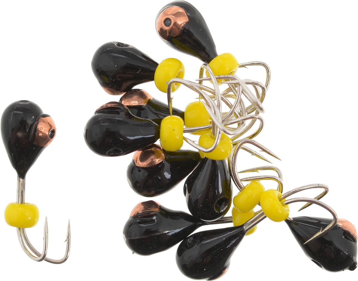 Мормышка вольфрамовая Dixxon Капля, с отверстием, с бисером, диаметр 4 мм, 0,95 г, 10 шт. 5939206/4/07Мормышка Dixxon Капля изготовлена из вольфрама и оснащена двойным крючком. Главное достоинство вольфрамовой мормышки - большой вес при малом объеме. Эта особенность дает большие преимущества при ловле, так как позволяет быстро погрузить приманку на требуемую глубину и лучше чувствовать игру мормышки. Подходит для подледной ловли.