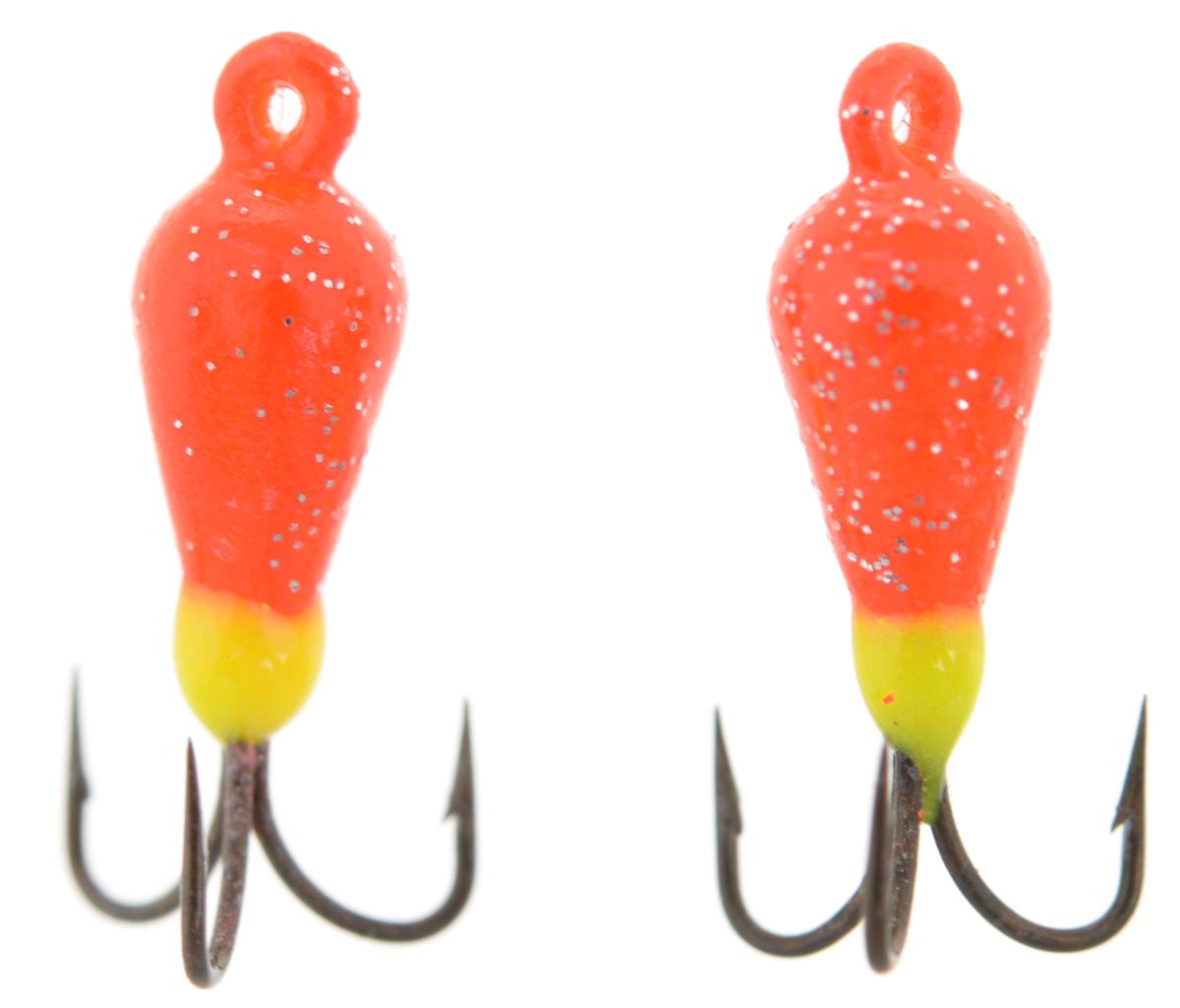 Чертик вольфрамовый Finnex, цвет: оранжевый, салатовый, 0,56 г, 2 штT2RD_оранжевый, салатовыйВольфрамовый чертик Finnex - одна из самых популярных приманок для ловли леща, плотвы и другой белой рыбы. Особенно хорошо работает приманка на всевозможных водохранилищах. Не пропустит ее и другая рыба, в том числе окунь, судак и щука.