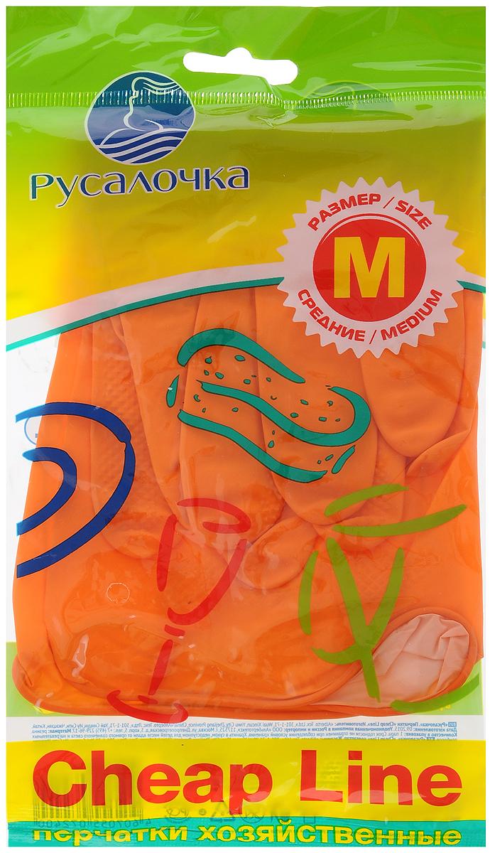 Перчатки хозяйственные Русалочка Cheap Line. Размер M790009Перчатки хозяйственные Русалочка Cheap Line, выполненные из мягкой резины, предназначены для защиты кожи рук от грязи, воздействия вредных веществ и моющих средств. Их удобно использовать при мытье посуды, уборке в доме, ремонте, работах в саду. Рельефная поверхность ладоней предотвращает скольжение.