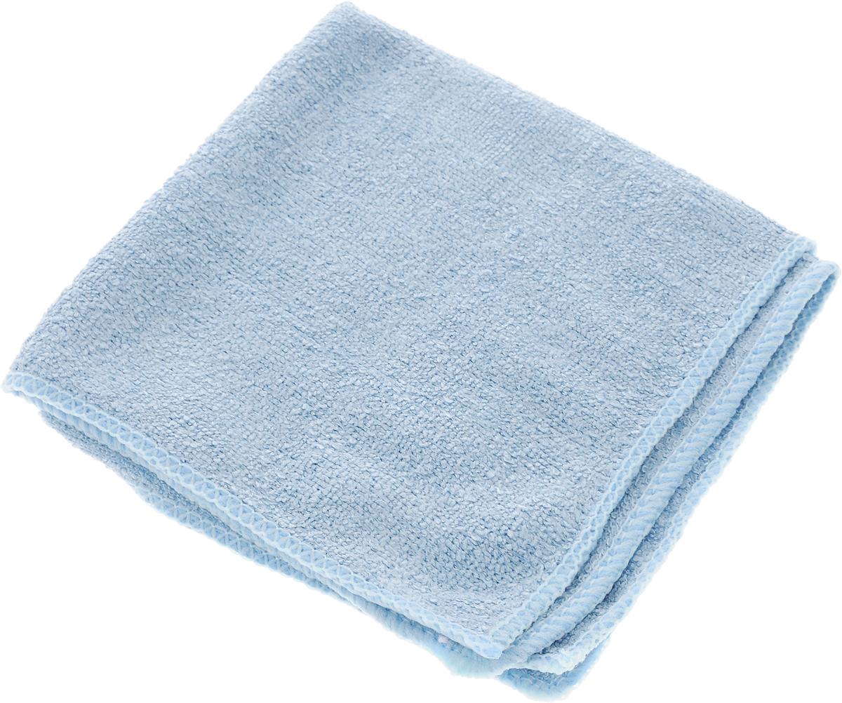 Салфетка для уборки Home Queen, цвет: серо-голубой, 30 х 30 см50308_серо-голубойСалфетка Home Queen, изготовленная из полиамида и полиэфира, предназначена для очищения загрязнений на любых поверхностях. Изделие обладает высокой износоустойчивостью и рассчитано на многократное использование, легко моется в теплой воде с мягкими чистящими средствами. Впитывающая салфетка не оставляет разводов и ворсинок, идеальна для стеклянных и блестящих поверхностей, удаляет большинство жирных и маслянистых загрязнений без использования химических средств. Не царапает поверхность и впитывает гораздо больше воды, чем обычная ткань. Подходит для сухой и влажной уборки. Материал: 30% полиамид, 70% полиэфир.