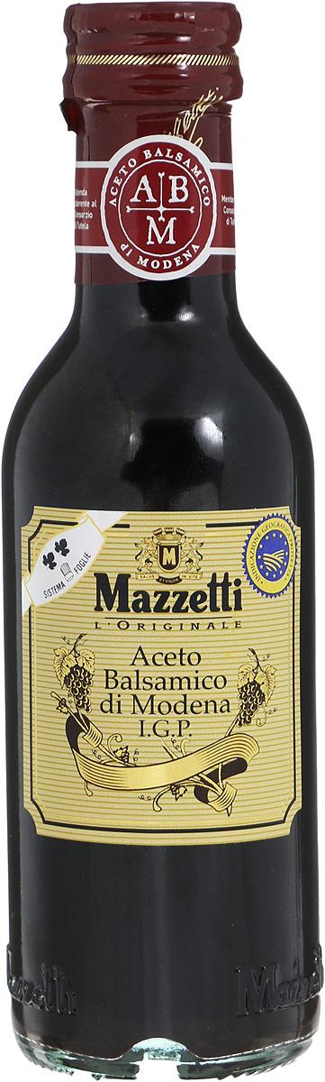 Mazzetti уксус бальзамический 2 листочка, 250 мл65102Бальзамический уксус Mazzetti изготовлен по традиционной рецептуре из винограда, выращенного в Эмилия-Романья (Италия), и выдержан в бочках из ценных пород дерева. Полученный продукт отличается насыщенным вкусом и пряным ароматом. Идеально подходит для заправки салатов и ежедневного использования. Серебряный знак 2 листочка означает мягкий вкус, рекомендуемый для приготовления маринадов, барбекю, овощей на пару. Уважаемые клиенты! Обращаем ваше внимание, что полный перечень состава продукта представлен на дополнительном изображении.
