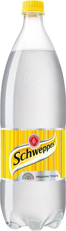 Schweppes Индиан Тоник напиток сильногазированный, 1,5 л1341802Schweppes Индиан Тоник - классический представитель марки, напиток с хинином, изобретённый в период британского правления в колониальной Индии. Хинин - экстракт из коры хинного дерева с сильным горьким вкусом.