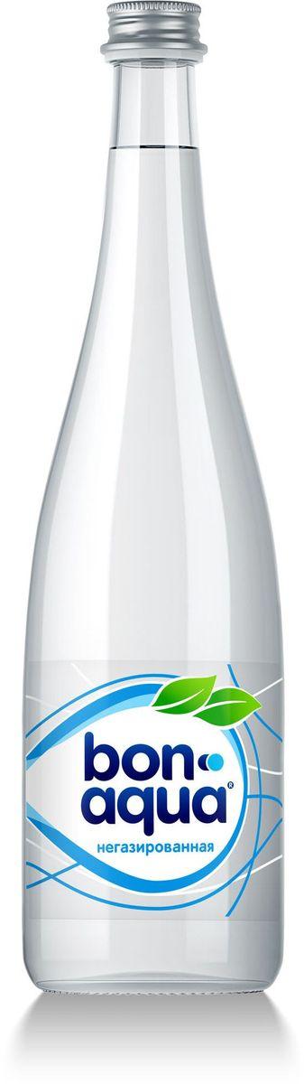 BonAqua Вода чистая питьевая негазированная, 0,75 л 1399901