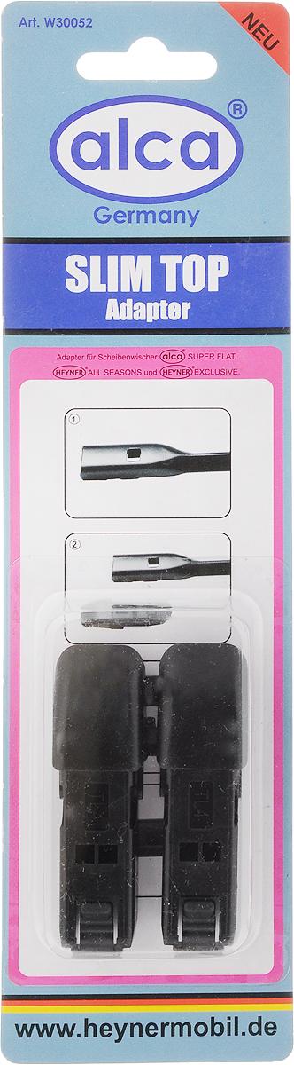 Адаптер для щеток Alca Slim top, 2 шт адаптер для щеток стеклоочистителя heyner c верхним замком 2 шт