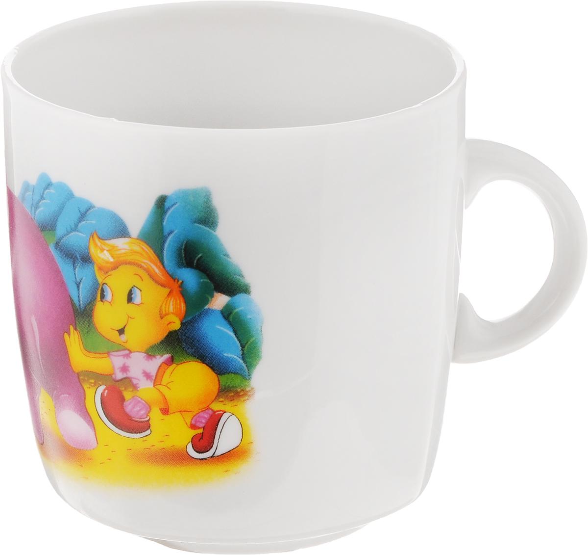Кружка Фарфор Вербилок Слоник, 210 мл8652530_слонКружка Фарфор Вербилок Слоник способна скрасить любое чаепитие. Изделие выполнено из высококачественного фарфора. Посуда из такого материала позволяет сохранить истинный вкус напитка, а также помогает ему дольше оставаться теплым.
