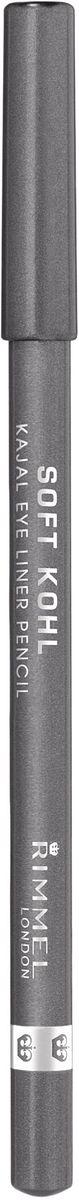 Rimmel Контурный карандаш для глаз Soft Kohl Kajal, тон № 064, 1,2 г34007210064Необычайно мягкий и одновременно стойкий Легко наносится и растушевывается, для естественного результата Нежный кремовый состав позволяет подчеркнуть внутреннее веко