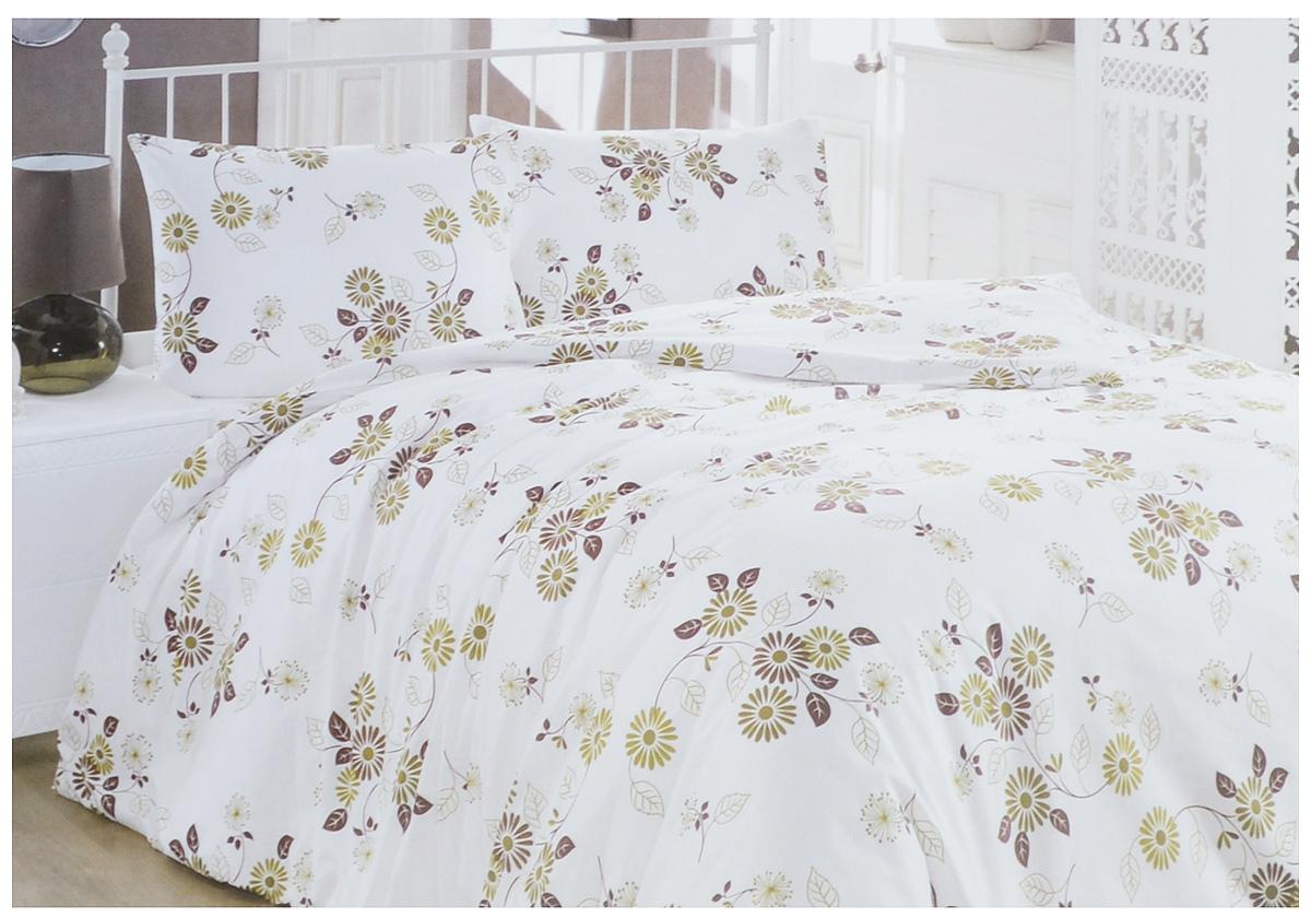 Комплект белья Brielle Ranforce, 2-спальный, наволочки 50х70. 1109-849021109-84902Комплект постельного белья Brielle Ranforce, выполненный из ранфорса (100% хлопка), состоит из пододеяльника, простыни и двух наволочек. Хлопковая ткань является одной из гипоаллергенных и прочных тканей, хорошо пропускает воздух, впитывает пары влаги, она мягкая, отлично стирается и гладится и плюс ко всему не такая дорогая, как натуральный шелк. Приобретая комплект постельного белья Brielle Ranforce, вы можете быть уверены в том, что покупка доставит вам и вашим близким удовольствие и подарит максимальный комфорт.