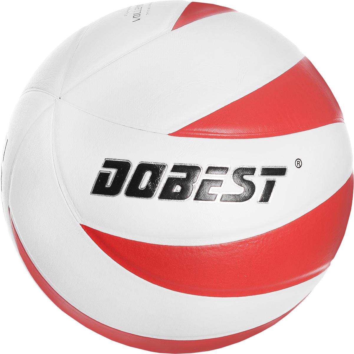 Мяч волейбольный Dobest V5-SU028R-12. Размер 528262076Волейбольный мяч Dobest V5-SU028R-12 подойдет для любительской игры на улице и в зале. Изделие выполнено из прочной синтетической кожи, камера - резина. Панели клееные. Количество панелей: 12. Количество слоев: 4. Вес: 260-280 г. УВАЖЕМЫЕ КЛИЕНТЫ! Обращаем ваше внимание на тот факт, что мяч поставляется в сдутом виде. Насос не входит в комплект.