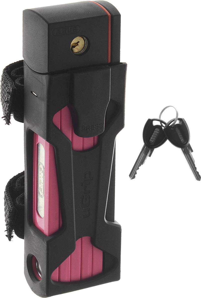 """Велозамок Abus """"Bordo uGrip 5700/80"""", с ключами, длина 80 см 112775_ABUS"""