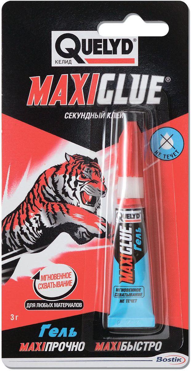 """Секундный клей-гель Quelyd """"Maxiglue"""", 3 г R161382"""