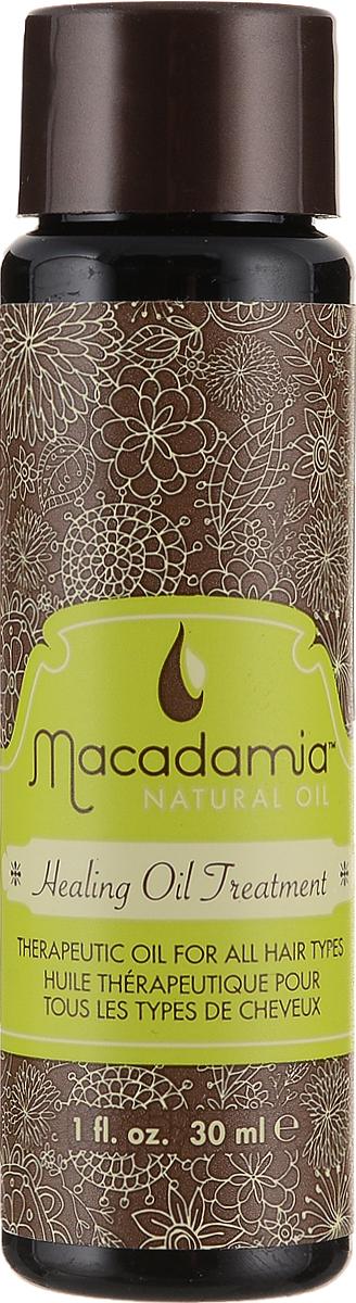 Macadamia Natural Oil Масло для волос Healing oil treatement, восстанавливающее, 30 млММ12Терапевтический уход Macadamia Natural Oil Healing oil treatement оптимально подходит любому типу волос, но особенно полезен для сухих и поврежденных волос. Обеспечивает интенсивное питание моментально проникая в структуру волоса, увлажняет, насыщает их витаминами и антиоксидантами. Волосы становятся ультра-гладкими, послушными и блестящими и легко расчесываются. Предотвращает выцветание интенсивности и насыщенности цвета окрашенных волос. Натуральная уф-защита. Товар сертифицирован.