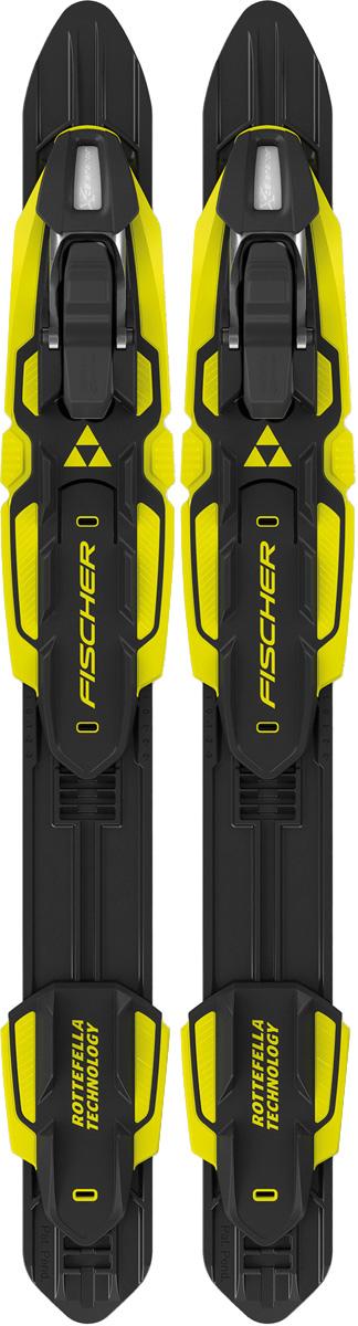 """Крепления для беговых лыж Fischer """"Performance Classic Nis"""", цвет: черный, желтый S55215"""